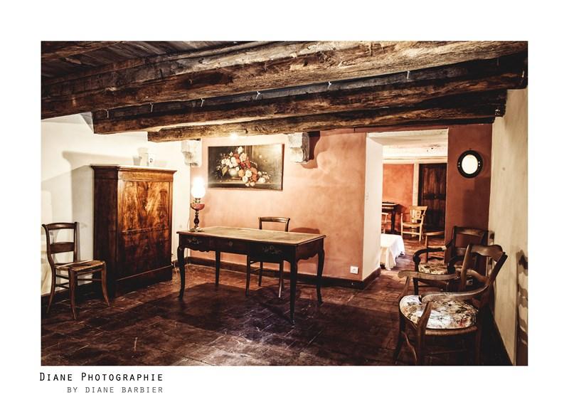 Rénovation enduits chambre, Château de Larnagol