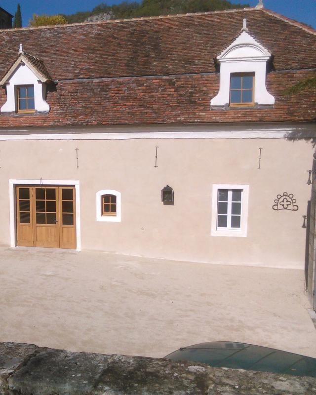 Restauration façace Ecurie du Château de Larnagol