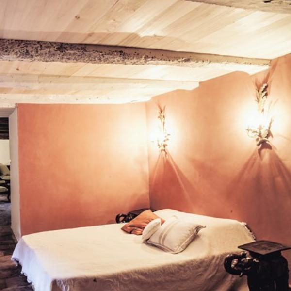 Rénovation décoration enduits naturel chambre