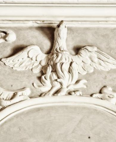 Restauration décors gypserie, Château de Larnagol