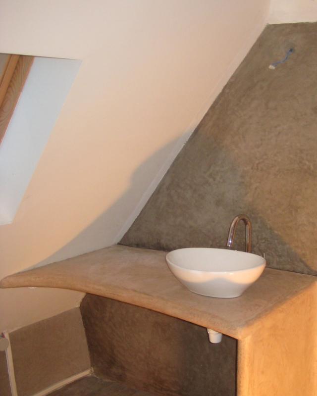 Salle de bain en tadelakt Lot Aveyron